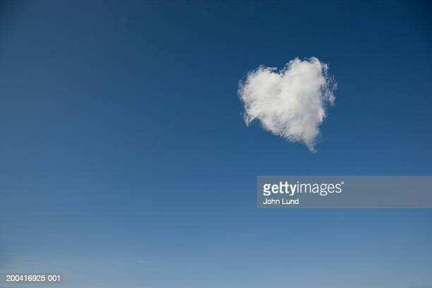 Heart shaped cloud (Digital Manipulation)