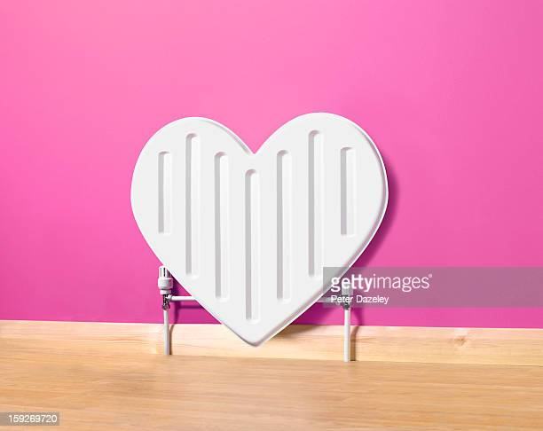 Heart shaped radiator