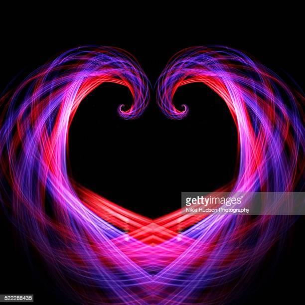 Heart shaped spirograph