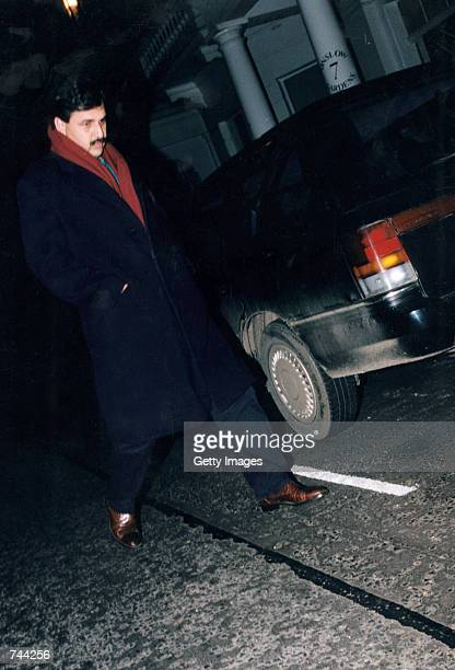 Heart surgeon Hasnat Khan is shown walking in this 1996 file photo According to British Sunday Mirror Hasnat Khan was the lover of Princess Diana