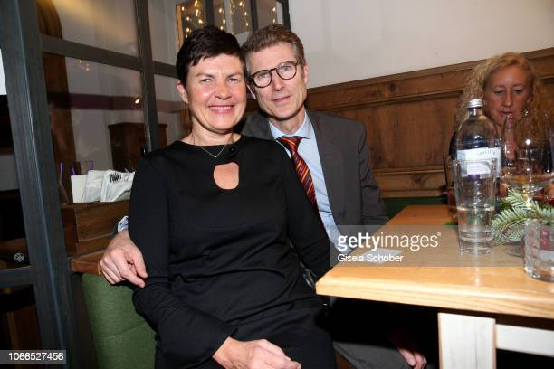 Heart surgeon Prof Dr Peter Ewert and his wife Nicole Ewert during the Christmas Charity Dinner hosted by StefanMross AnnaCarinaWoitschack and...