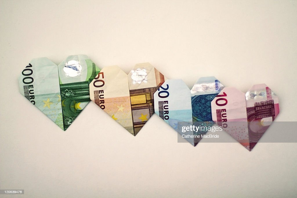 I heart the euro : Stock Photo