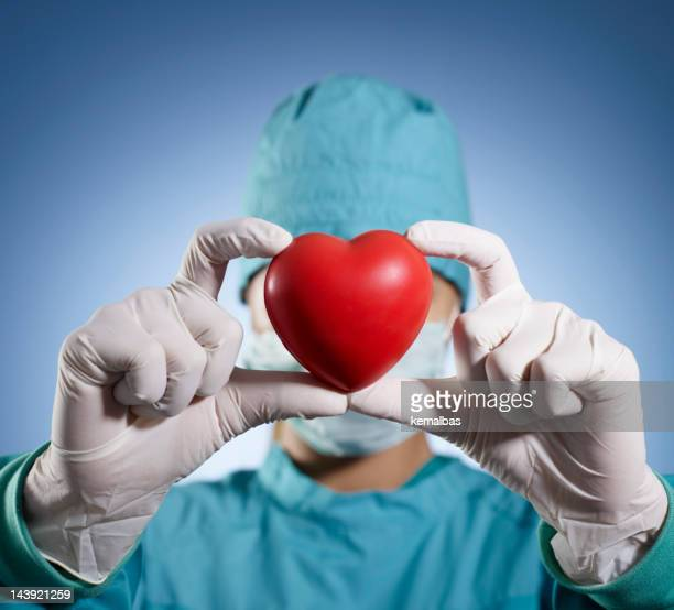 heart transplant - transplant surgery stock photos and pictures