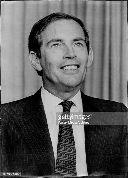 Heart Transplant Surgeon Dr Christian Barnard gave a press conference at Sydney Airport today before returning to South Africa October 24 1969