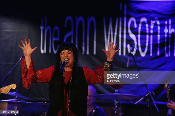 """Heart Vocalist Ann Wilson performs her """"The Ann Wilson Thing"""" solo show at City Winery on October 7, 2015 in New York City."""