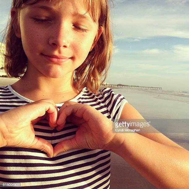 Heart with Her Hands