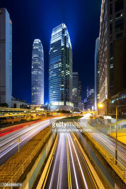 heartbeat of hong kong - central stock pictures, royalty-free photos & images