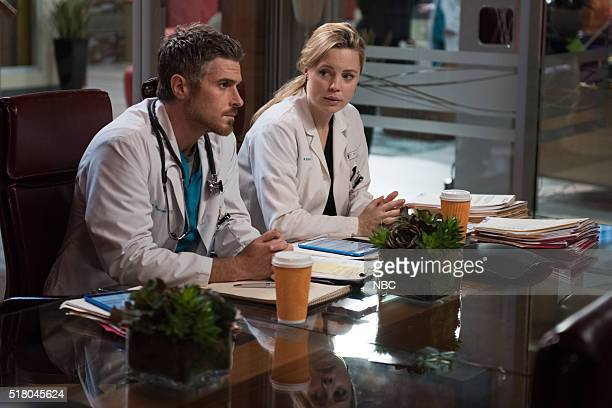 HEARTBEAT 100000 Heartbeats Pictured Dave Annable as Dr Pierce Harrison Melissa George as Dr Alex Panttiere