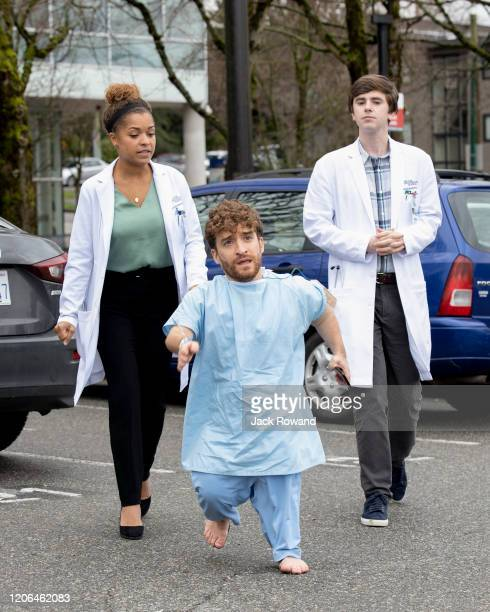 DOCTOR Heartbreak Dr Claire Browne and Dr Shaun Murphy treat a patient with a rare form of dwarfism Meanwhile Dr Morgan Reznick Dr Audrey Lim and Dr...