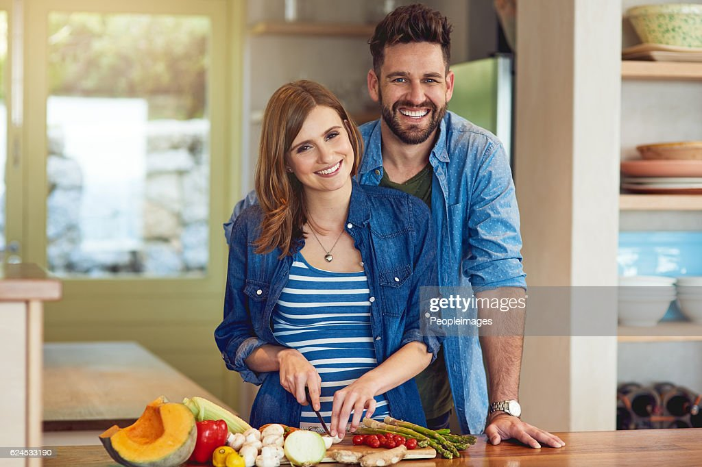 Heart-healthy cooking for two : Stock Photo
