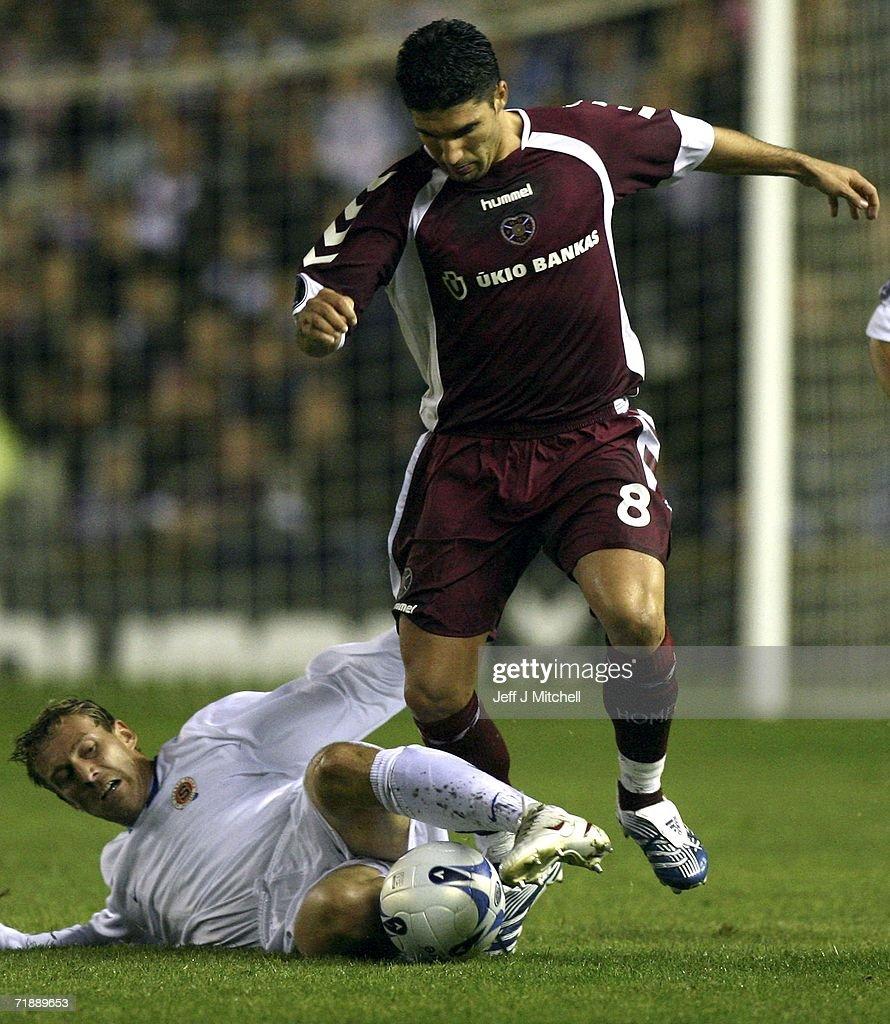 GBR: UEFA Cup: Hearts v Sparta Prague : News Photo