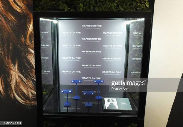 Hearts On Fire on display during ELLE's 25th Annual Women In Hollywood Celebration presented by L'Oreal Paris Hearts On Fire and CALVIN KLEIN at Four...