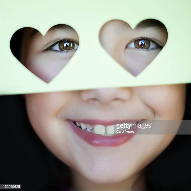 Hearts shape