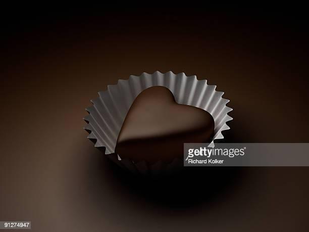 heart-shape chocolate