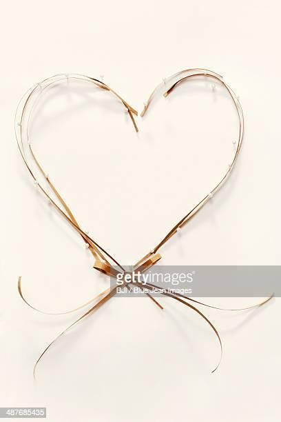 Heart-shape frame