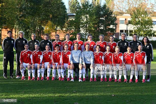 Heasd coach Anouschka Bernhard goalkeeper coach Silke Rottenberg assistant coach Britta Carlson kit manager Anke Walther Michaela Specht Saskia...