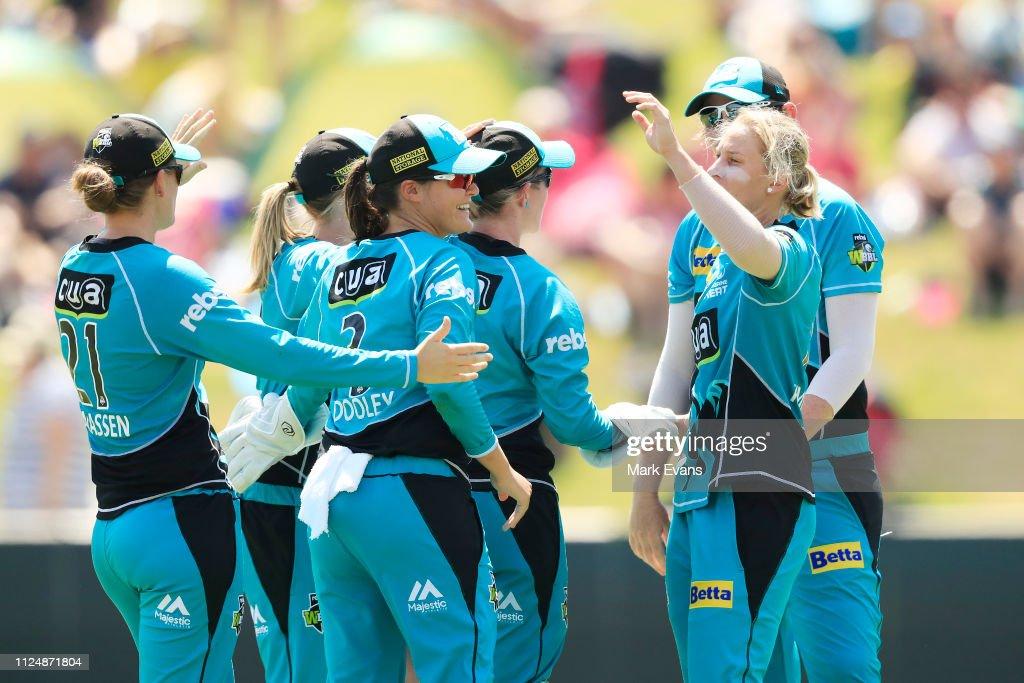 WBBL - Final: Sydney v Brisbane : News Photo