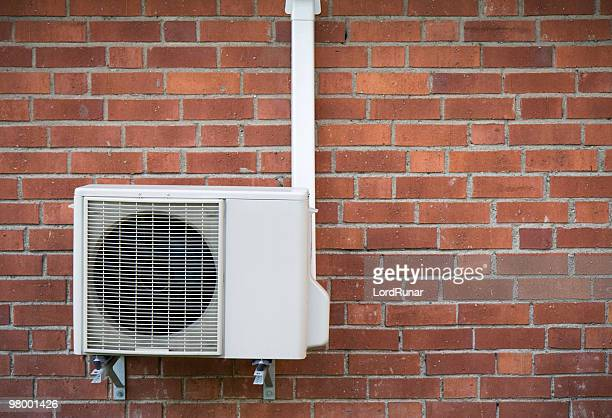 heat pump - air pump stock photos and pictures