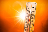 Heat wave concrept