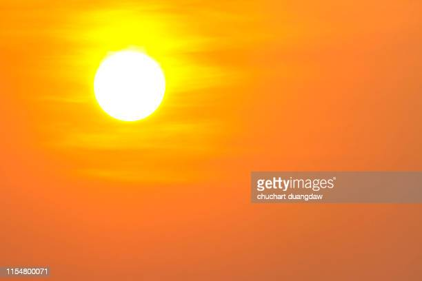 heat wave hot sun, climate change, makes heat stroke - heat stock pictures, royalty-free photos & images