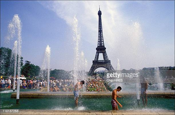 Heat wave in Paris France on June 29 1986