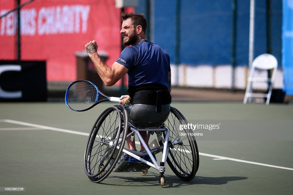 British Open Wheelchair Tennis Championships - Day Four