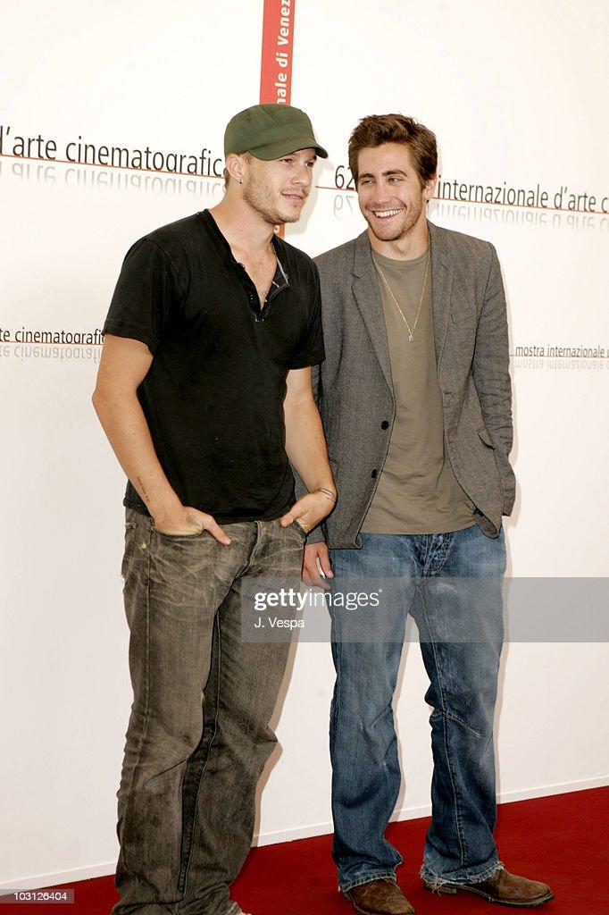"2005 Venice Film Festival - ""Brokeback Mountain"" Photocall : News Photo"