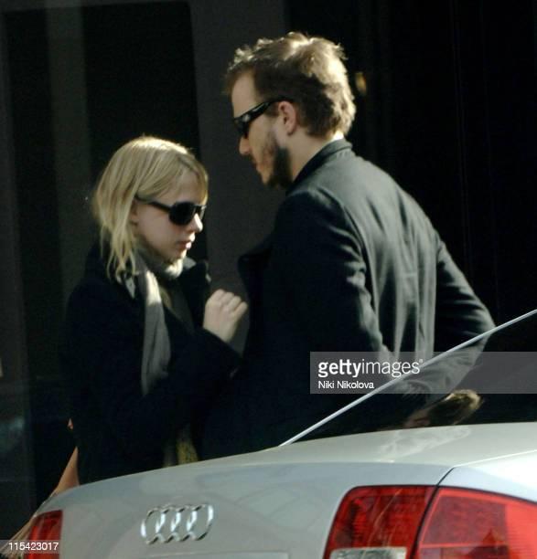 Heath Ledger and Michelle Williams *Exclusive Coverage*
