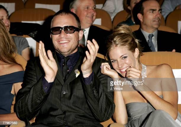 Heath Ledger and Sienna Miller