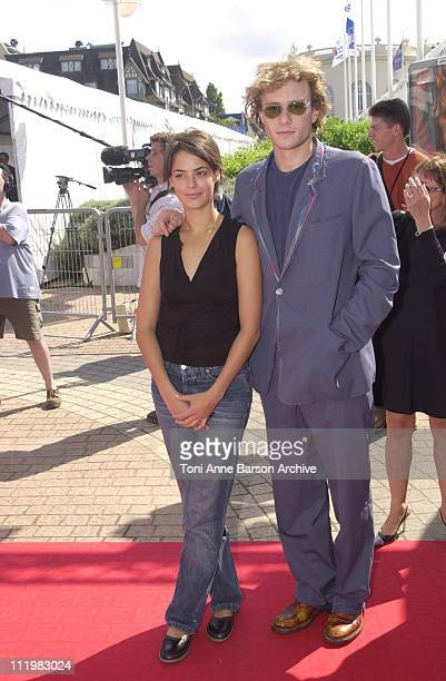 Heath Ledger Berenice Bejo during Deauville 2001 The A Knight's Tale Premiere at Centre International Deauville CID in Deauville France