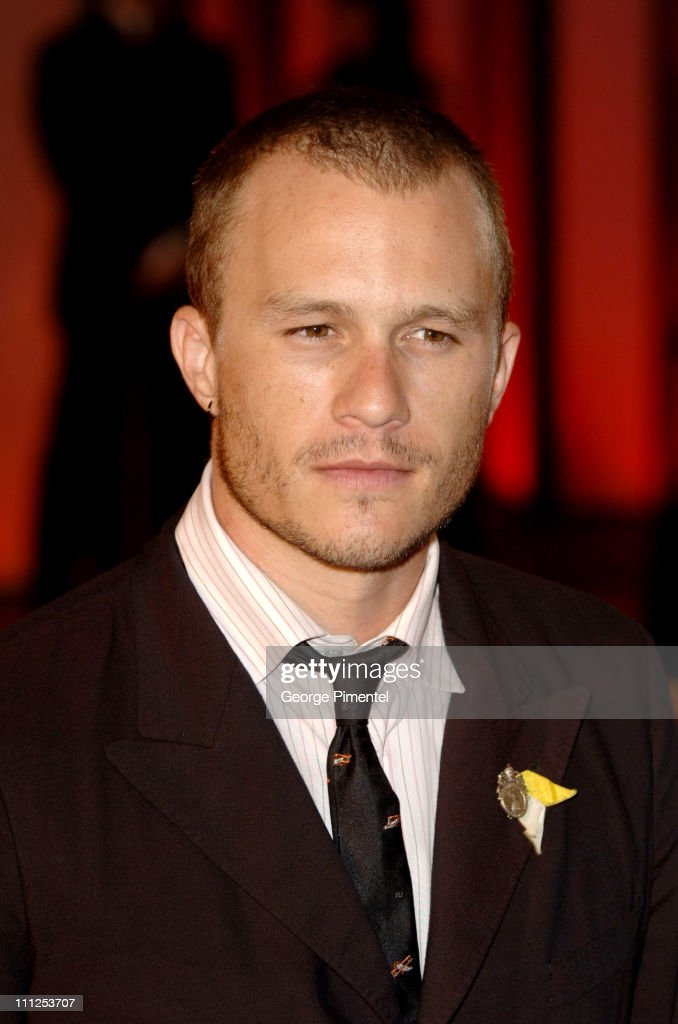 Heath Ledger during 2005 Venice Film Festival - 'Brokeback Mountain' Premiere at Palazzo del Cinema in Venice Lido, Italy.