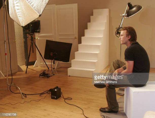 Heath Ledger during 2006 Diesel Portrait Studio Presented by Inside Entertainment and Wireimage Day 1 at Portrait Studio in Toronto Ontario Canada