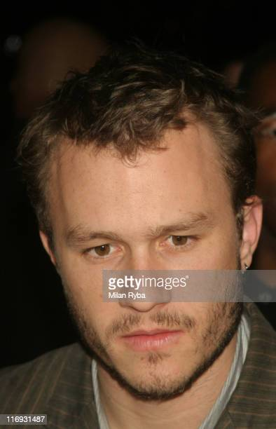 Heath Ledger during 2006 Santa Barbara International Film Festival Honors Heath Ledger with Breakthrough Performance of the Year at Lobero Theatre in...