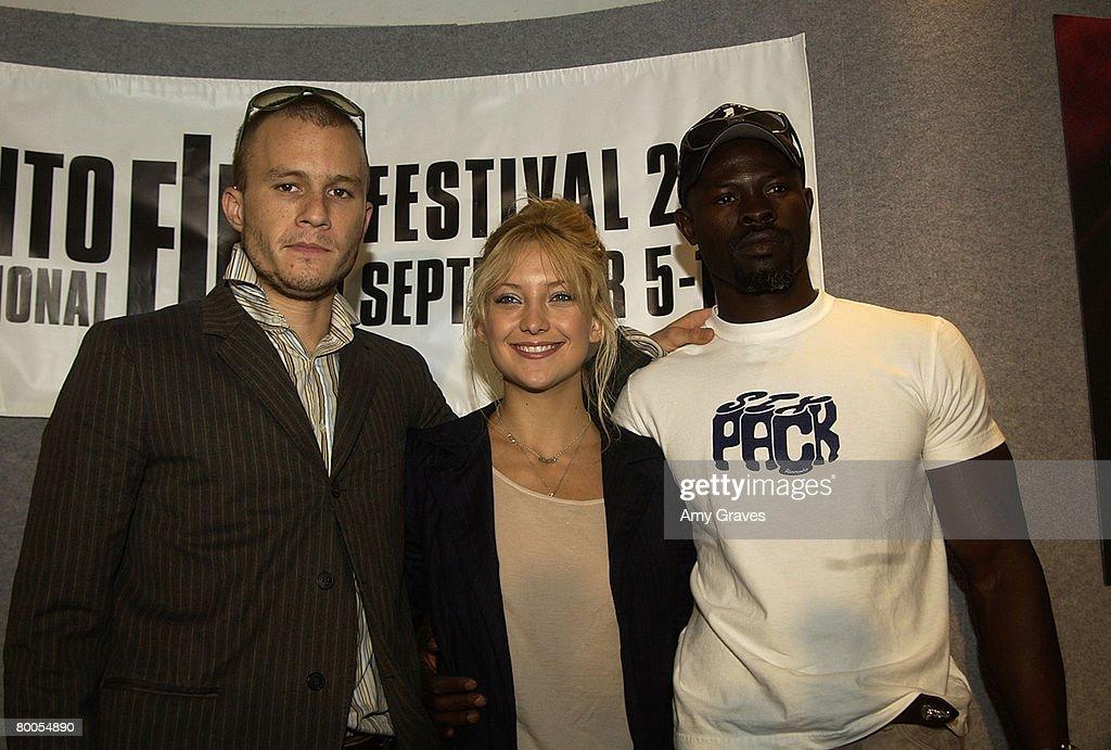 Heath Ledger, Kate Hudson & Djimon Hounsou