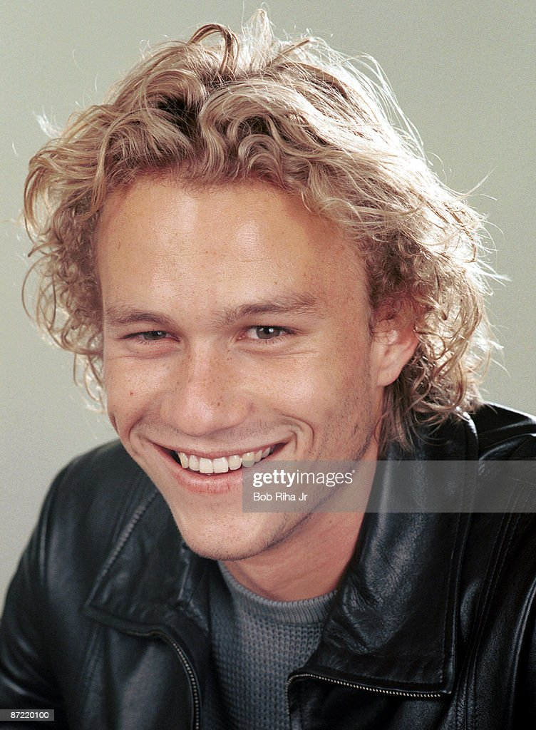 Heath Ledger Photo Session on June 9, 2000 : News Photo