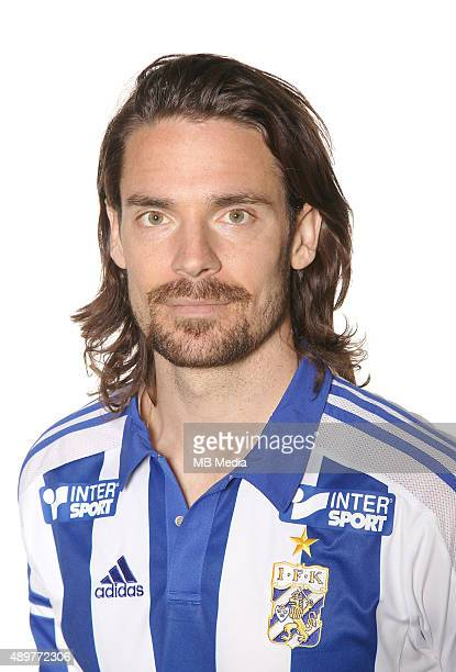 Heath Pearce of IFK Goteborg poses during a portrait session on March 11, 2015 in Gothenburg,Sweden.