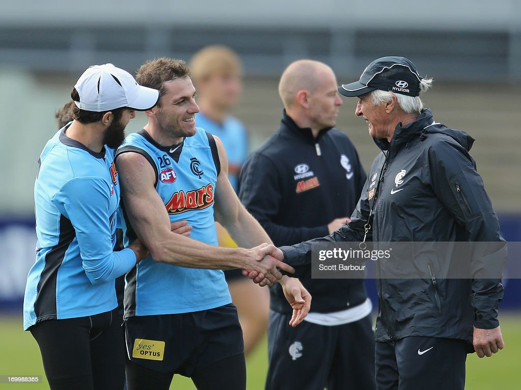 Carlton Blues Media & Training Session