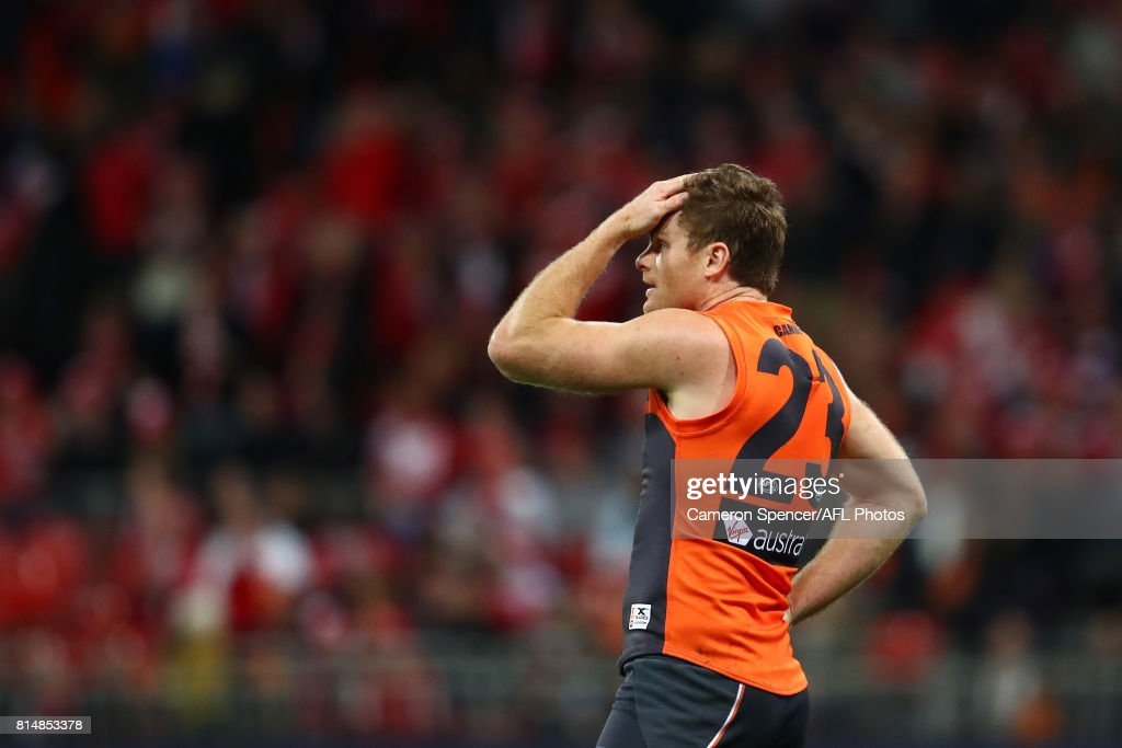 AFL Rd 17 - GWS v Sydney : News Photo