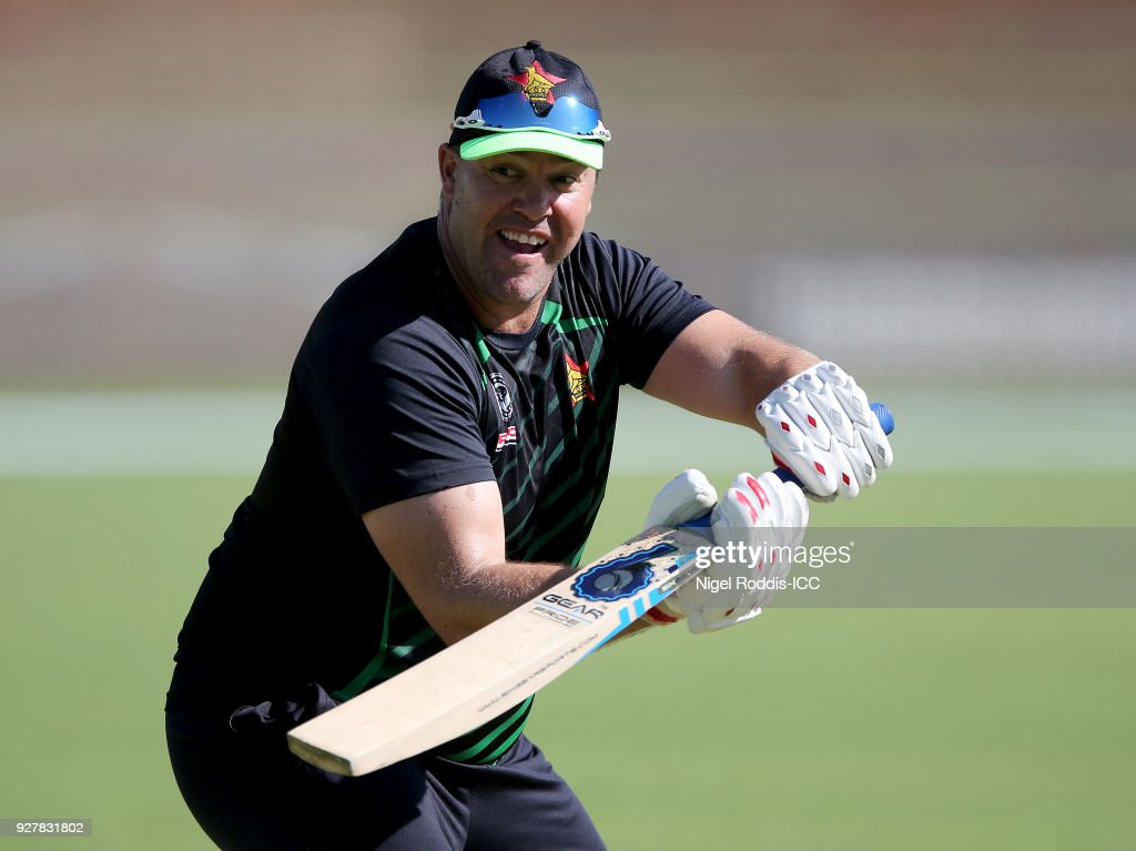 Zimbabwe v Afghanistan - ICC Cricket World Cup Qualifier