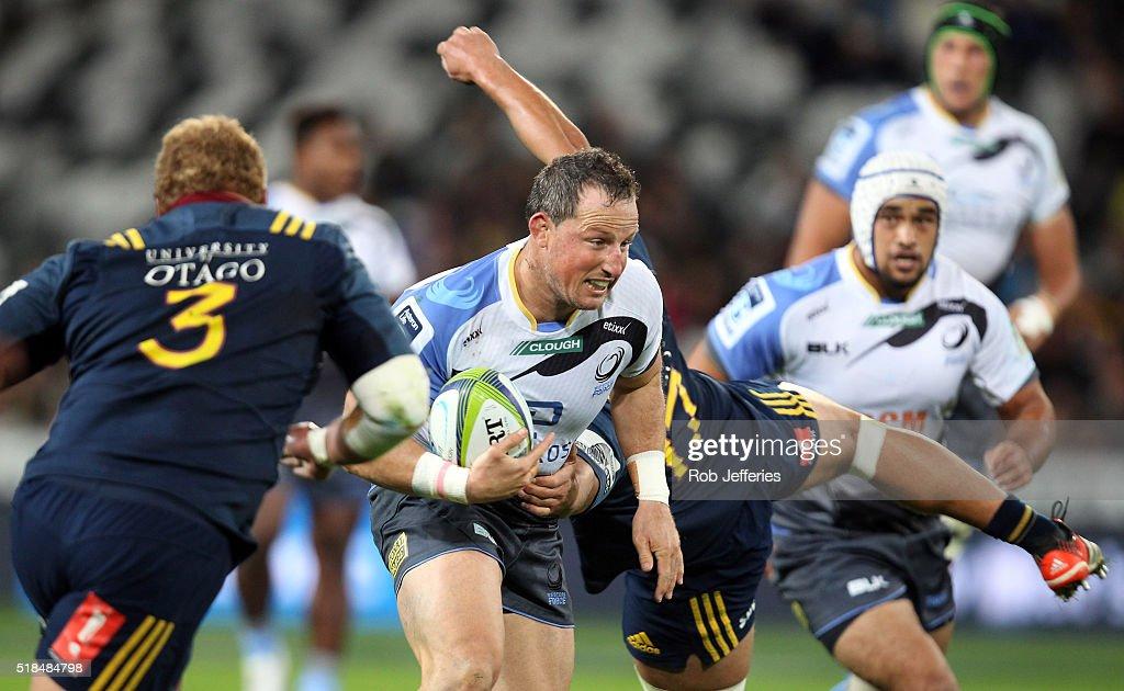 Super Rugby Rd 6 - Highlanders v Force : News Photo