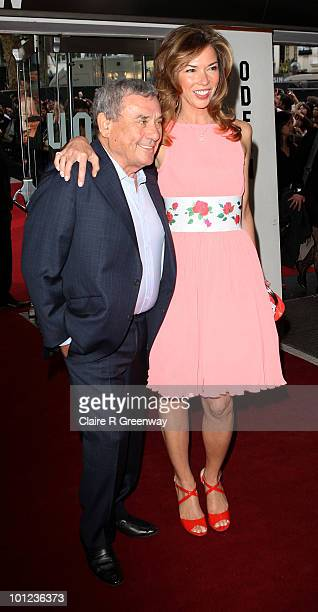 Heather and Sol Kerzner arrives at the UK premiere of Sex And The City 2 at Odeon Leicester Square on May 27, 2010 in London, England.