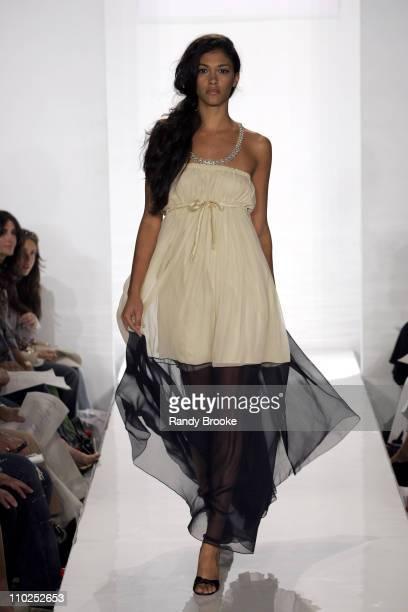 Heather B wearing Caroline Hedaya Spring 2006 during Stylelounge - Spring/Summer 2006 New York Fashion Week - Day 3 - Caroline Hedaya at Stylelounge...