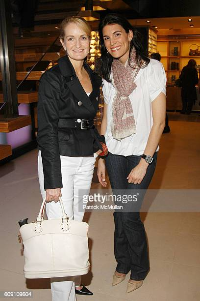 Heather Bandenberghe and Amy Erbesfeld attend LOUIS VUITTON TEEN VOGUE 2007 Spring/Summer Collection Preview for Mothers Daughters at LOUIS VUITTON...