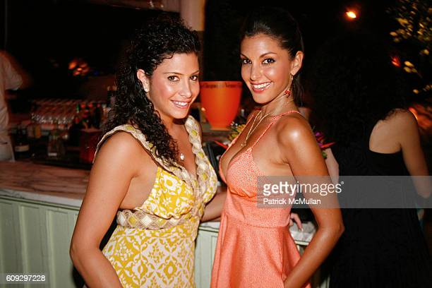 Heather Berry and Sonia Vera attend Launch of Diane von Furstenberg Soleil Swim and Beach Collection at The Delano on July 13 2007