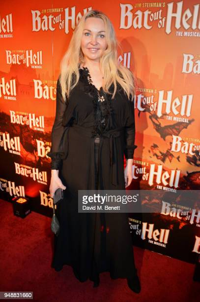 Heather Bird attends the Gala Night after party for 'Bat Out Of Hell The Musical' at the Bloomsbury Ballroom on April 19 2018 in London England