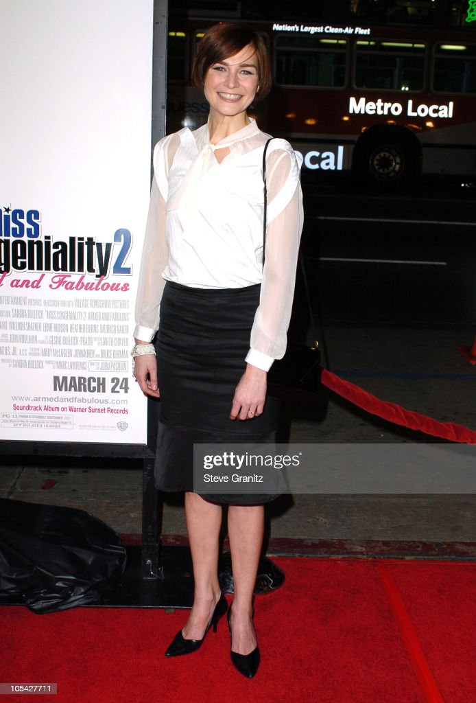 Heather Burns during 'Miss Congeniality 2: Armed and Fabulous' Los Angeles Premiere - Arrivals at Grauman's Chinese Theatre in Hollywood, California, United States.
