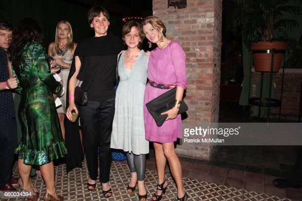 Heather Bursch Libby Spears and Kee Edwards attend House of Lavande Hosts the Nest Foundation Gala at Bowery Hotel on May 1 2009 in New York City