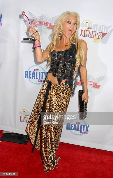 Heather Chadwell arrives at the Fox Reality Channel's Really Awards held at Avalon Hollywood on September 24 2008 in Hollywood California