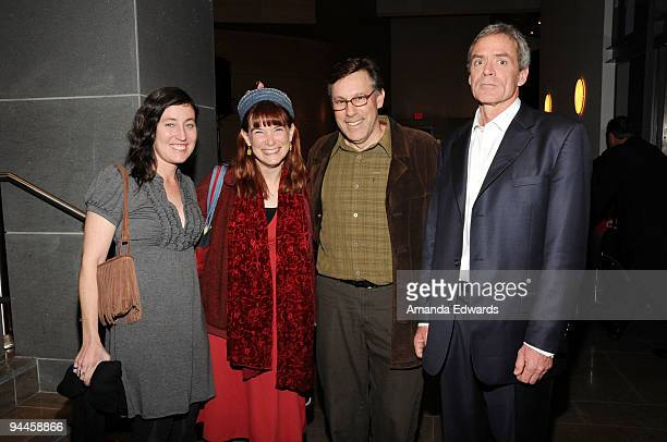 Heather Courtney Elizabeth Meister Dan Collison and Scott Carrier attend the United States Artists announcement of its 50 USA fellowships for 2009 at...
