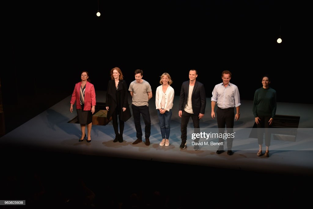 """Consent"" - Press Night - Curtain Call : News Photo"